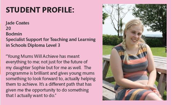Young Mums will achieve (UK, supported by the ESF) http://www.