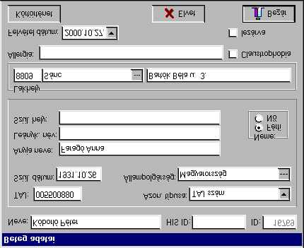 Medvision 3.0 for Windows II.