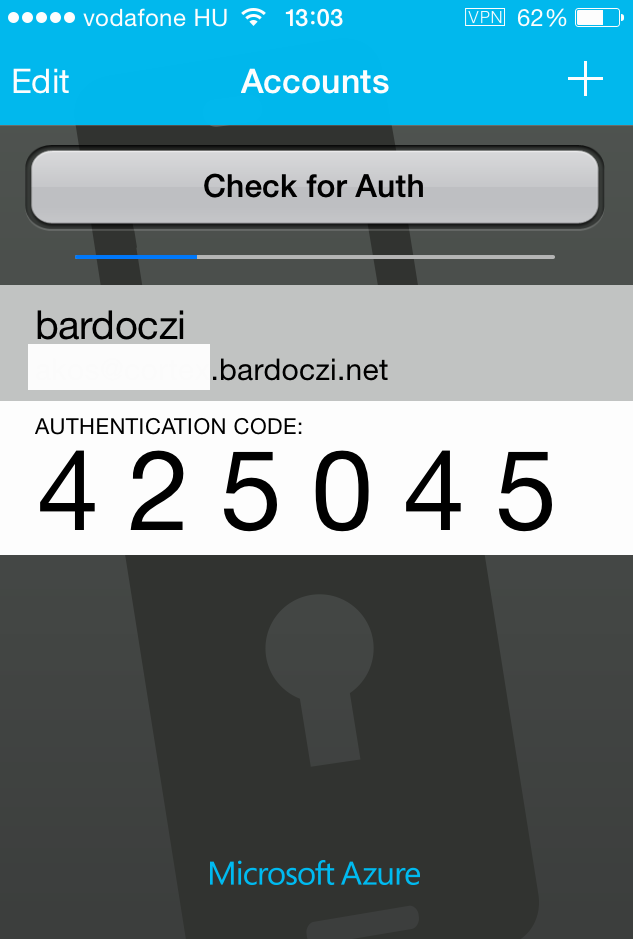 smartphone appok: Google Authenticator, Microsoft Authenticator,