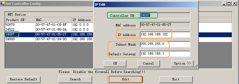 10.2 TCP/IP all controllers are in the