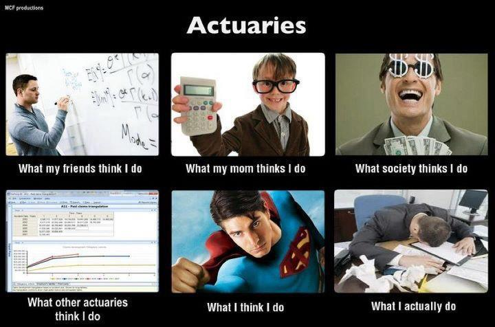 What others think actuaries do Ryan McAllister, FFIC in 2010