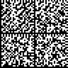 14. ábra: Datamatrix kód képe (Forrás: http://tnoergaard.wordpress.com/2010/07/10/generating-datamatrix-and-qr-codes-using-linux/) QR CODE: 1994-ben a japán Denso Wave cég fejlesztette ki az ún.
