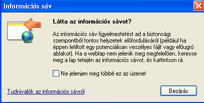 ActiveX Vezérlő telepítése Internet Explorer 8 böngészőbe 1. Indítsa el az Internet Explorer 8-as böngészőt. (Windows XP esetén: Start menü > Internet Explorer) 2. Nyissa meg a https://vny.nive.