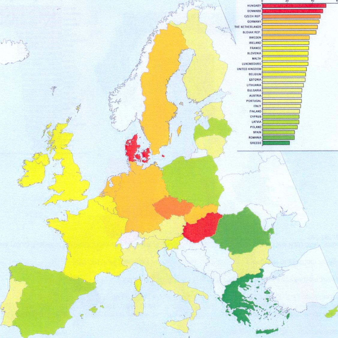 Colorectal cancer incidence in women in the EU Member