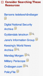 Examples: images, RSS feeds, instant messaging, LibGuides, Wikipedia, QR