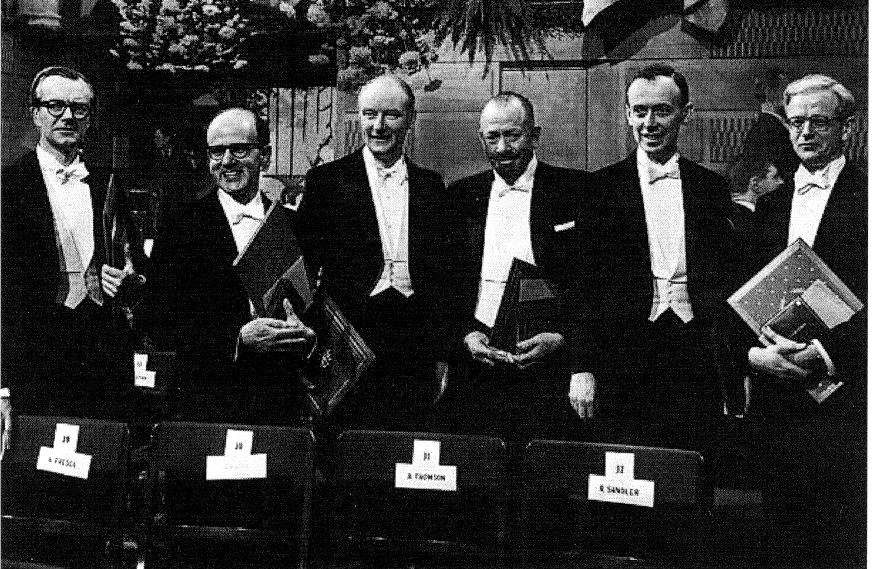 obel Prizes for Structural Studies of DA and Proteins in 1962 the obel Prizes in