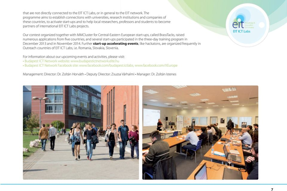 become partners of international eit ict labs projects.