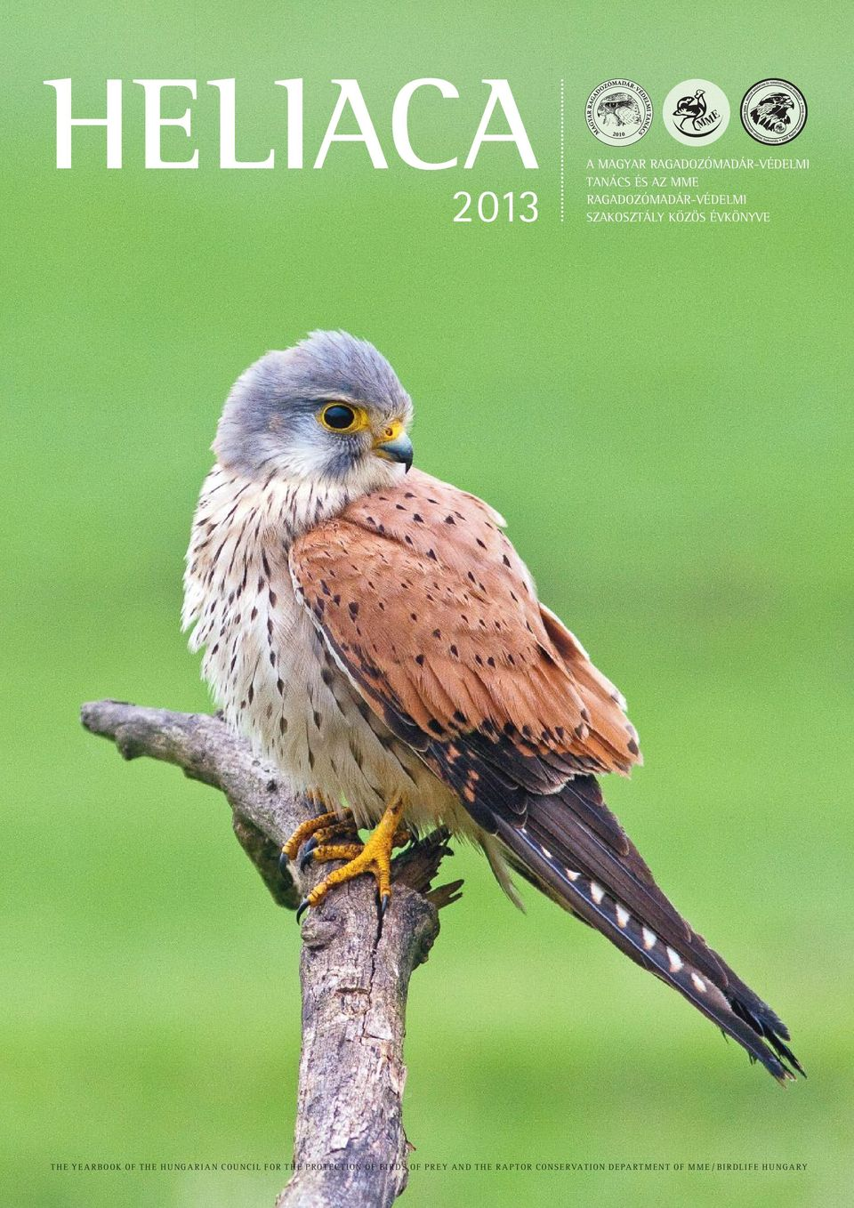 of the Hungarian Council for the Protection of Birds of Prey