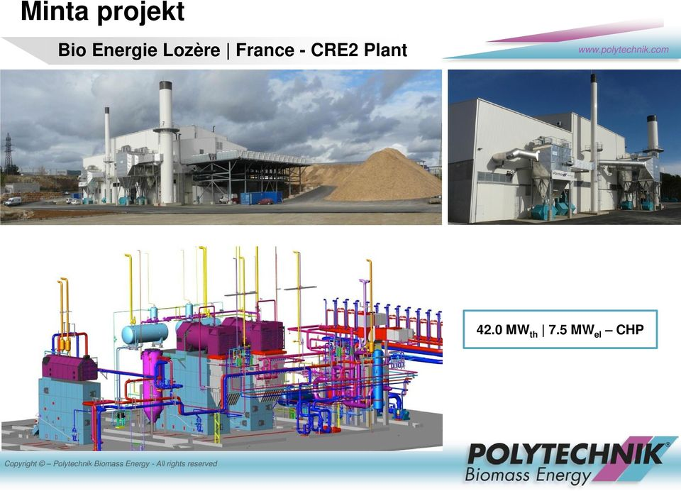 France - CRE2 Plant