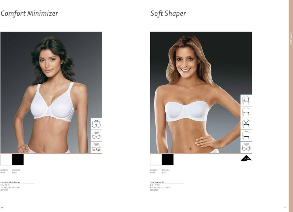 18% PA, 11% EL 10018395 Soft Shaper WD