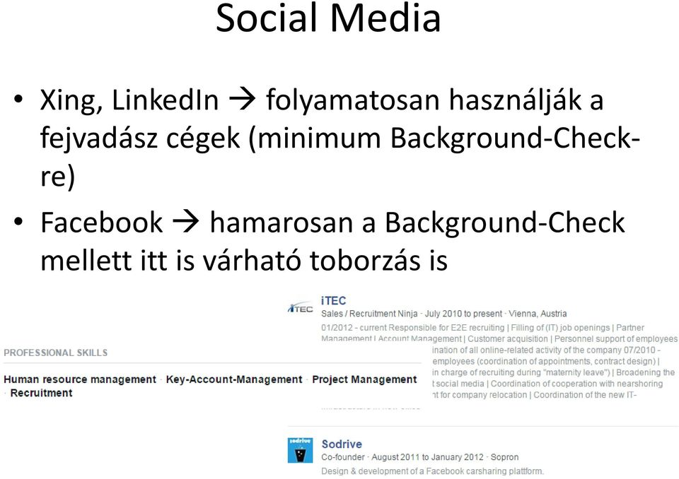 Background-Checkre) Facebook hamarosan a