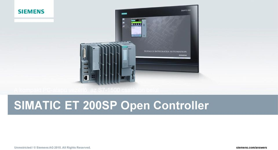 SIMATIC ET 200SP Open