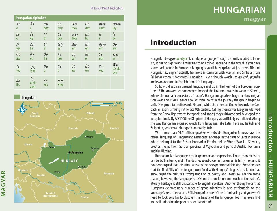 how to say hungary in hungarian