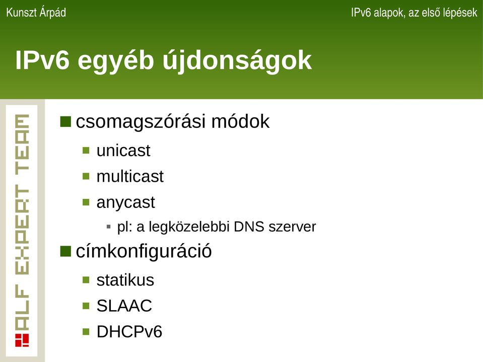 multicast anycast pl: a