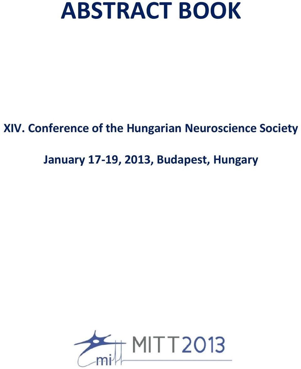 Hungarian Neuroscience