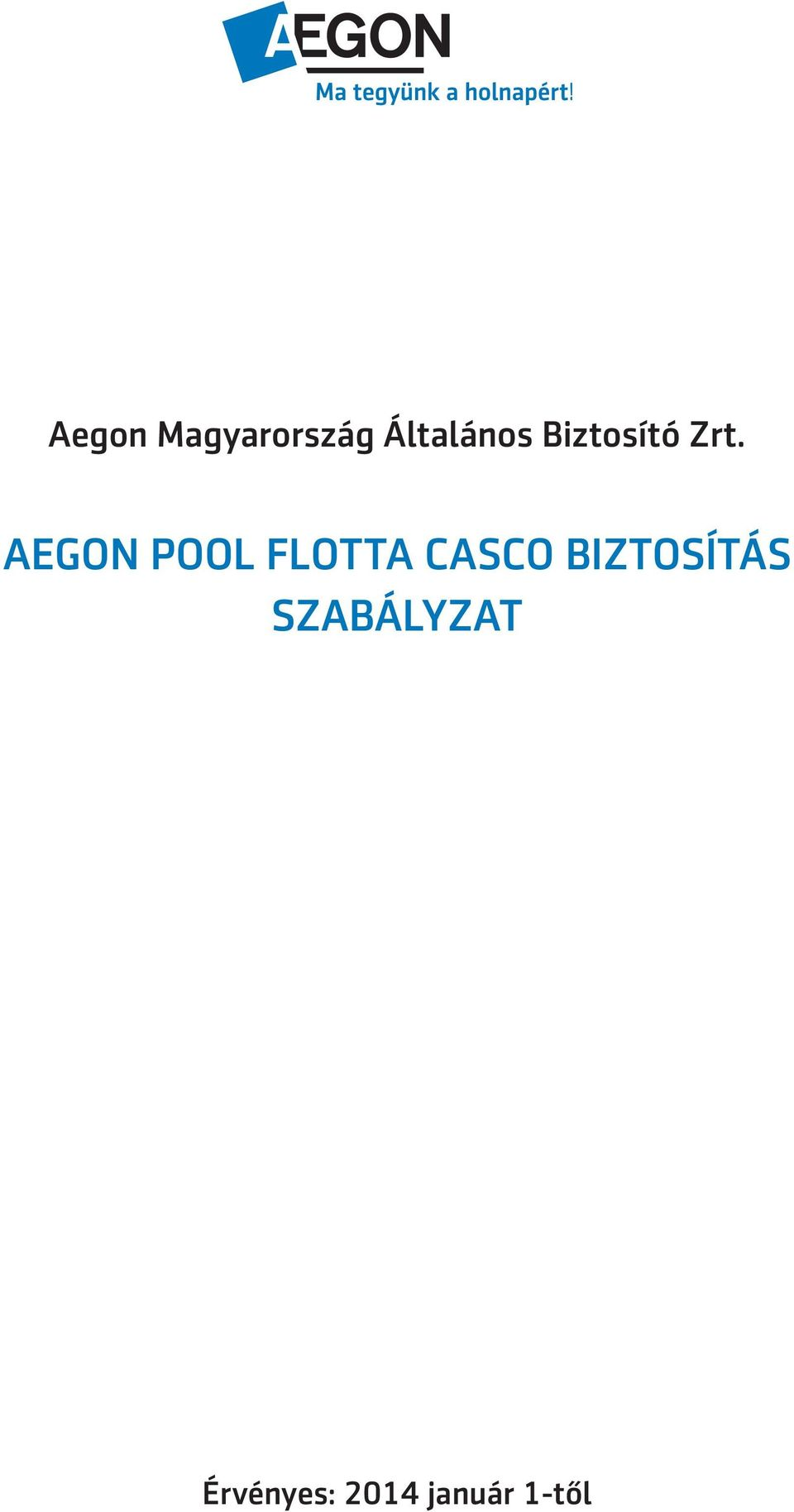 AEGON POOL FLOTTA CASCO