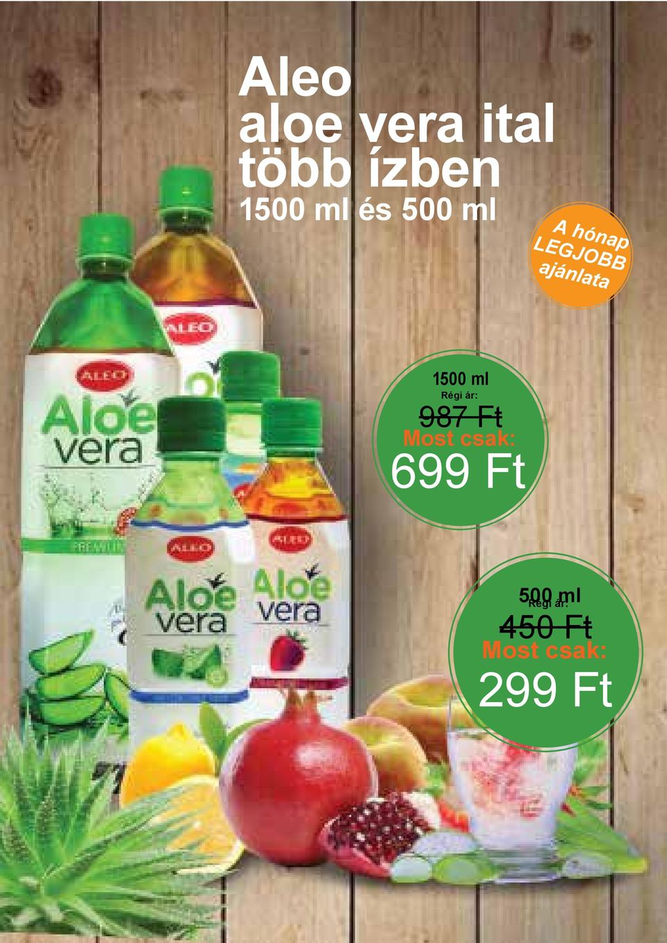 1500 ml Régi ár: 987 Ft Most csak: 699