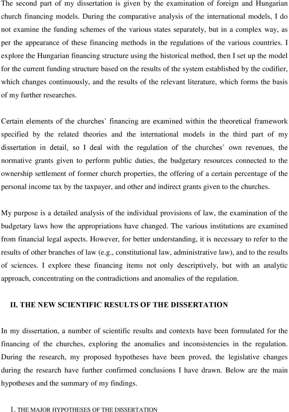methods in the regulations of the various countries.
