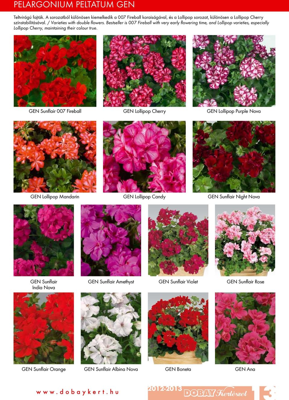/ Varieties with double flowers.