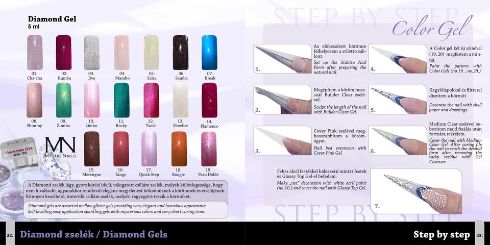Megépítem a köröm hoszszát Builder Clear zselével. Sculpt the length of the nail with Builder Clear Gel. 5.