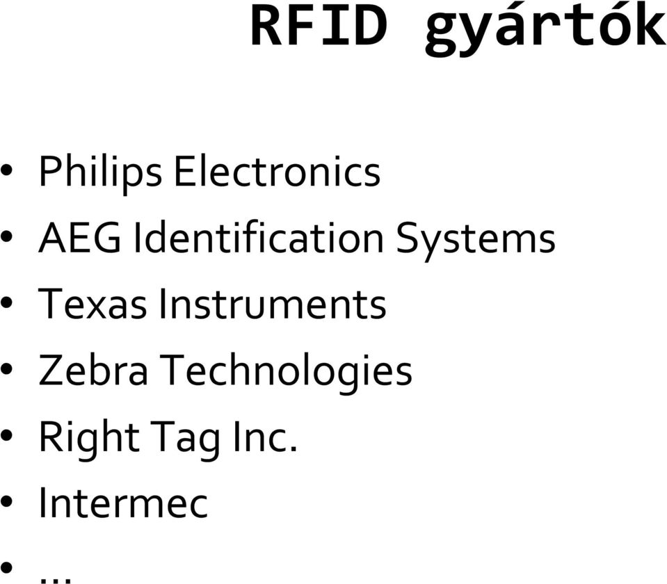 Identification Systems Texas