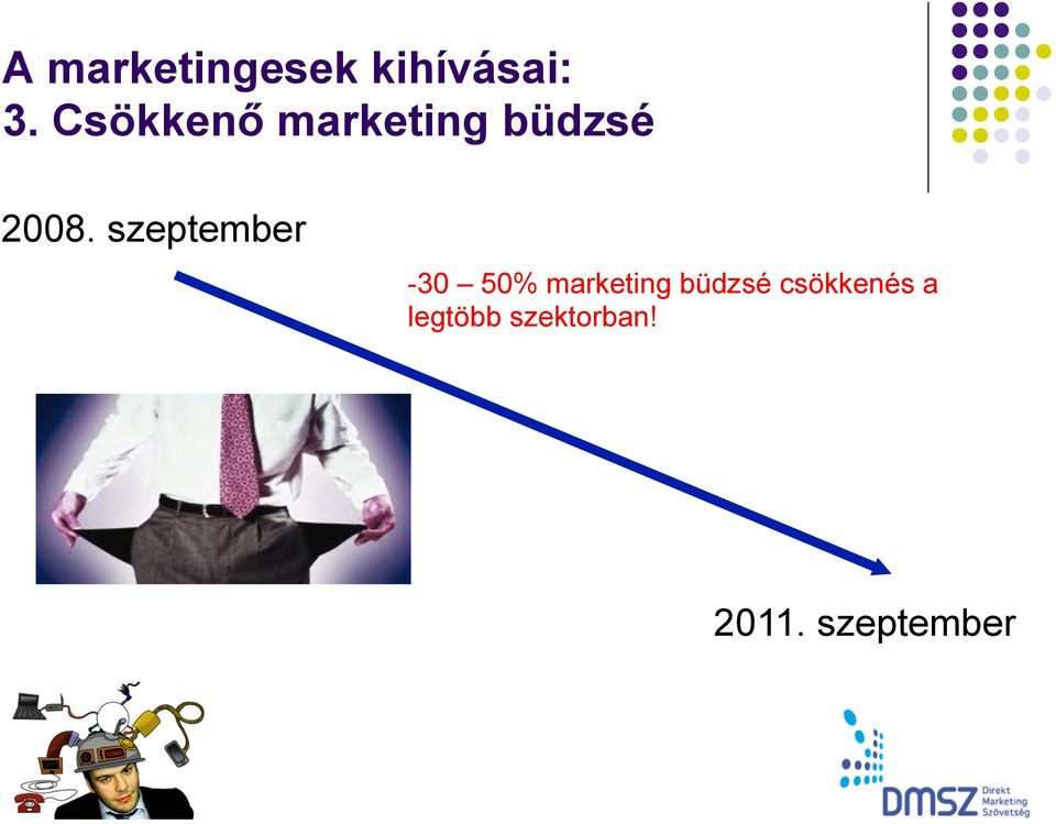 szeptember -30 50% marketing büdzsé