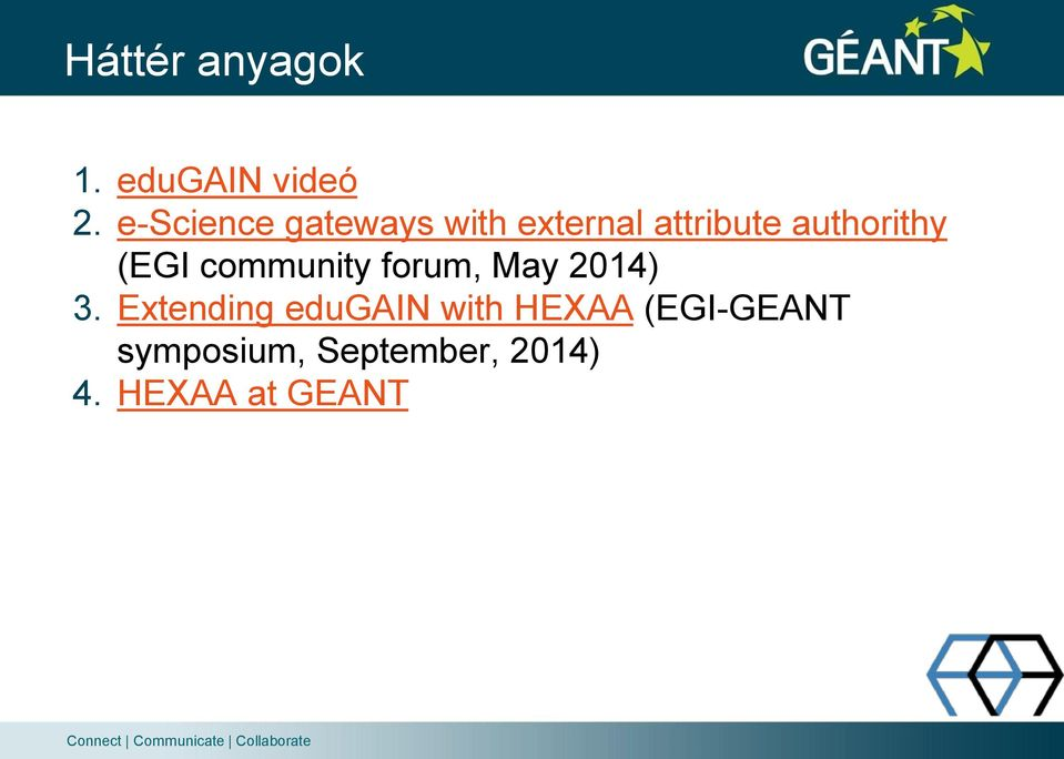 authorithy (EGI community forum, May 2014) 3.