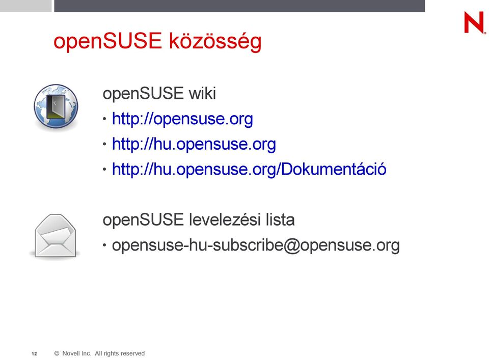 org http://hu.opensuse.