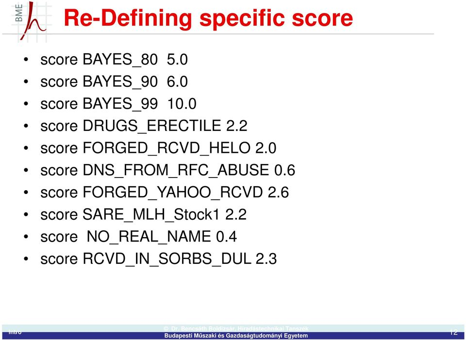 2 score FORGED_RCVD_HELO 2.0 score DNS_FROM_RFC_ABUSE 0.