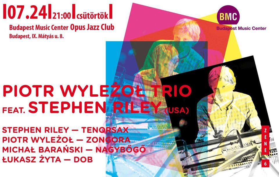 Stephen Riley (USA) Stephen Riley tenorsax Piotr Wyleżoł