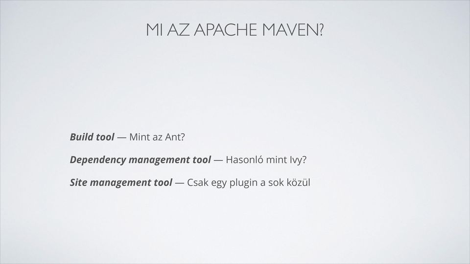 Dependency management tool Hasonló