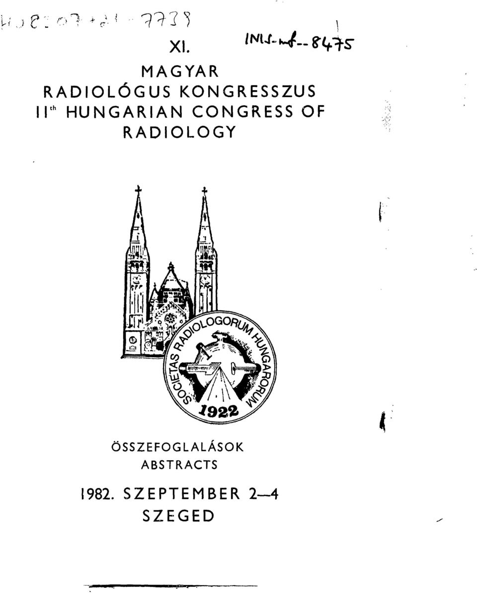 HUNGARIAN CONGRESS OF RADIOLOGY
