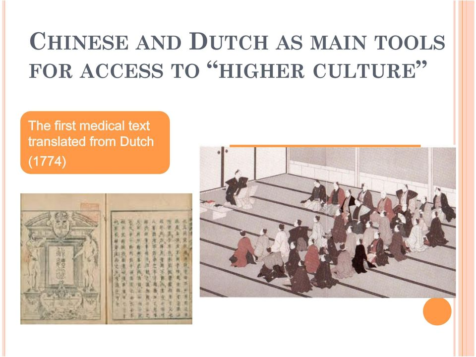 CULTURE The first medical
