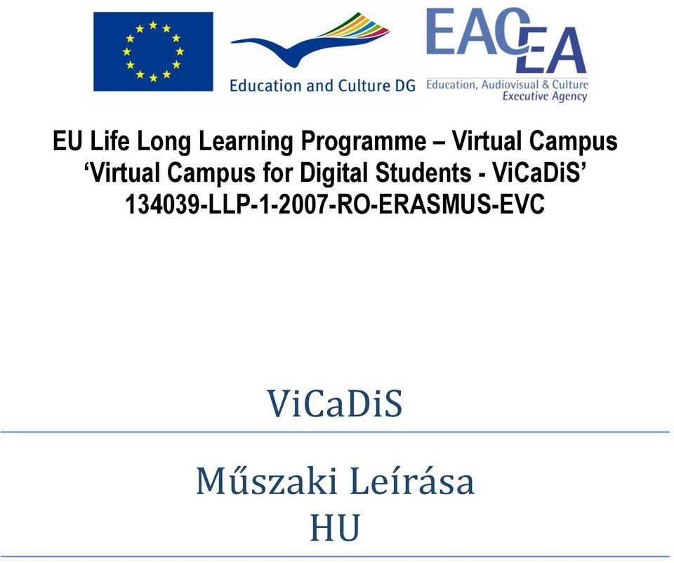 Digital Students - ViCaDiS