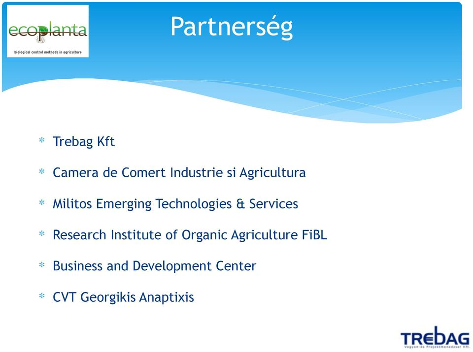 Services Research Institute of Organic Agriculture