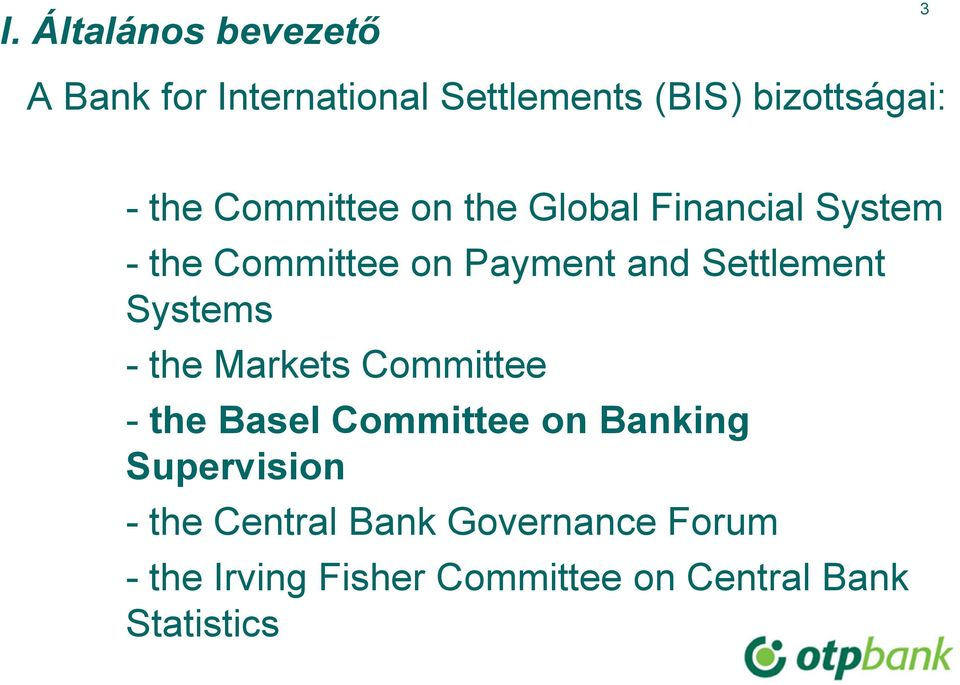Settlement Systems - the Markets Committee - the Basel Committee on Banking