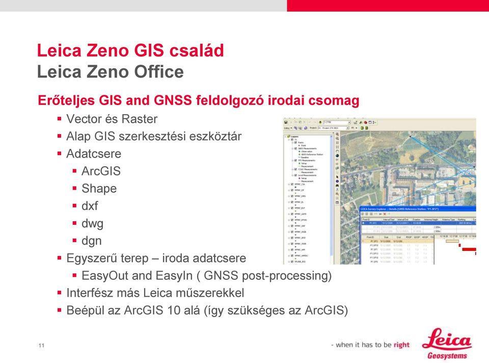 dwg dgn Egyszerű terep iroda adatcsere EasyOut and EasyIn ( GNSS post-processing)