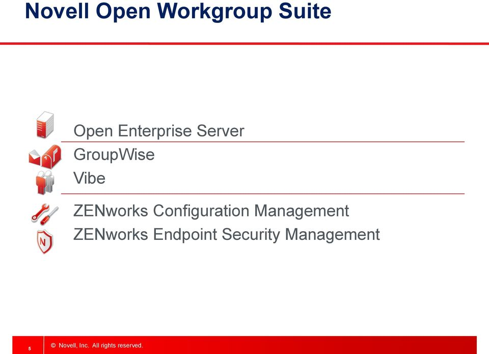 Configuration Management ZENworks Endpoint