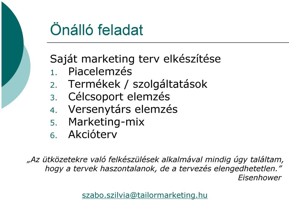 Marketing-mix 6.