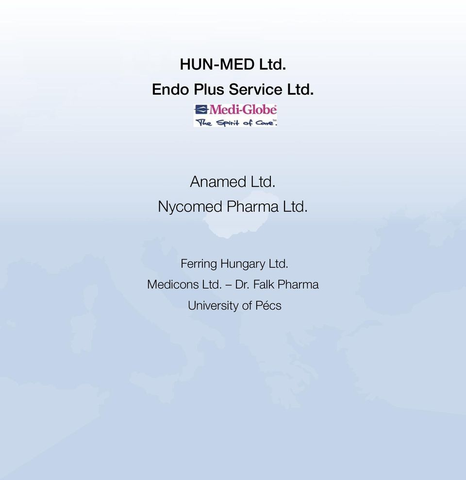 Ferring Hungary Ltd. Medicons Ltd.