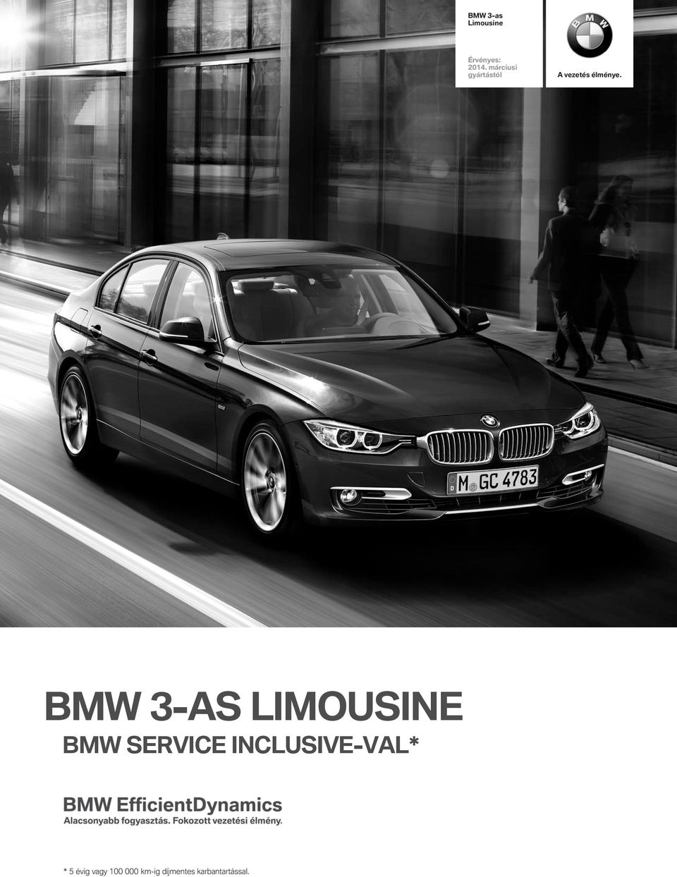 BMW 3-aS LIMUSINE BMW SERVICE