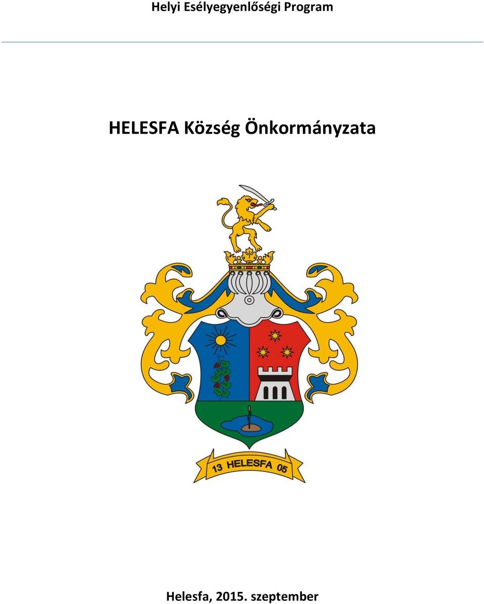 Program HELESFA