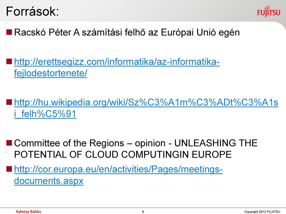 org/wiki/sz%c3%a1m%c3%adt%c3%a1s i_felh%c5%91 Committee of the Regions opinion - UNLEASHING