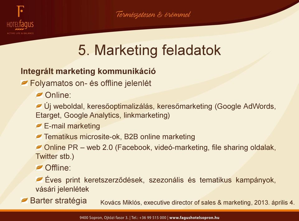 Tematikus microsite-ok, B2B online marketing Online PR web 2.