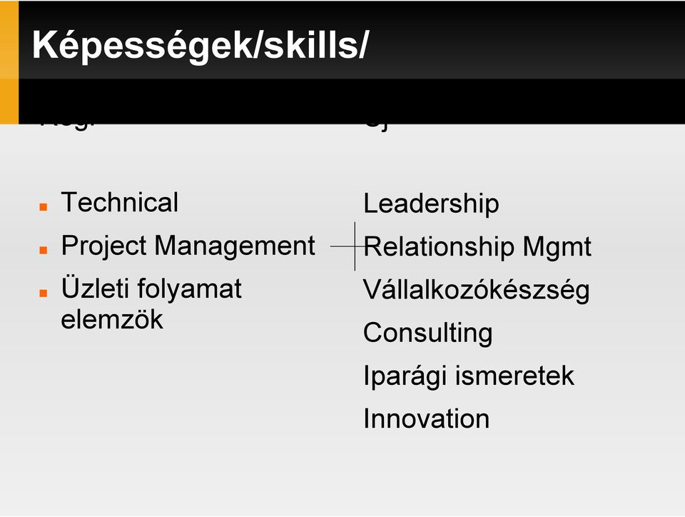 elemzök Leadership Relationship Mgmt
