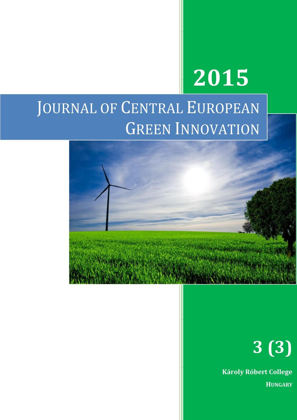 GREEN INNOVATION 3