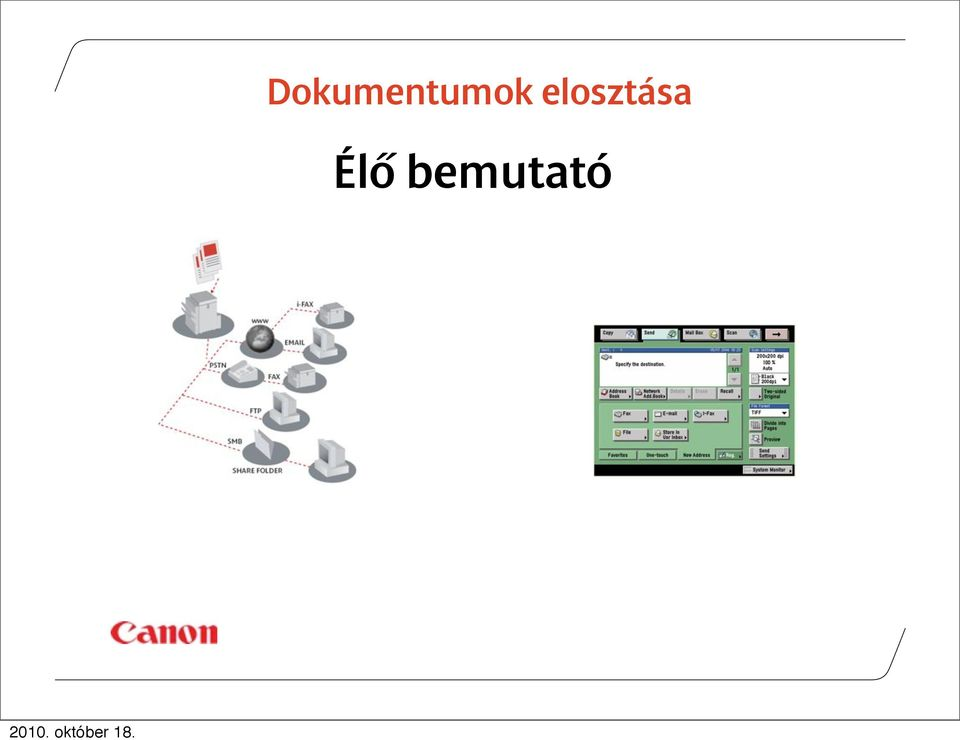 These solutions replace traditional Dokumentumok elosztása methods of distribution such as mail, fax and courier, to deliver instantaneous, zero cost, secure distribution of documents across your