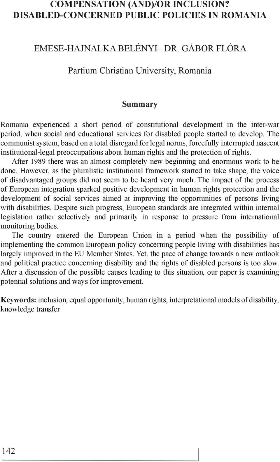 people started to develop.