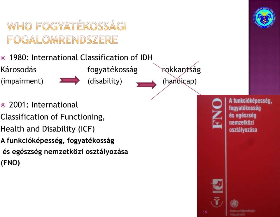 Classification of Functioning, Health and Disability (ICF) A