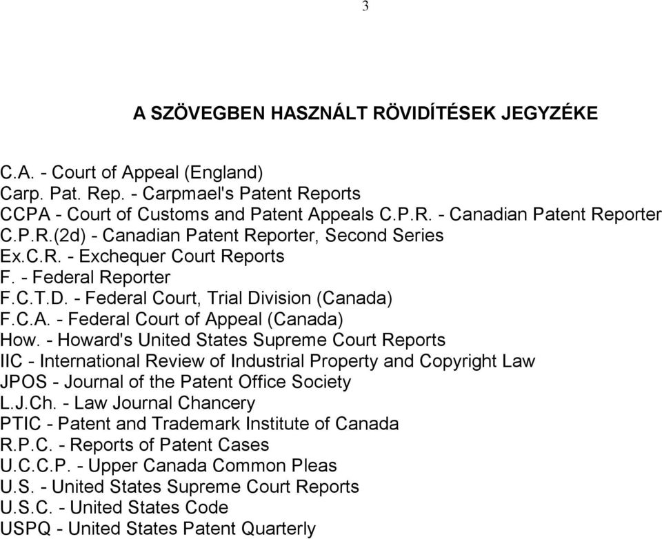 - Federal Court of Appeal (Canada) How.